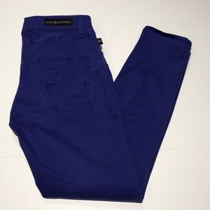Rock & Republic Hamburg Purple Jeans Size 6